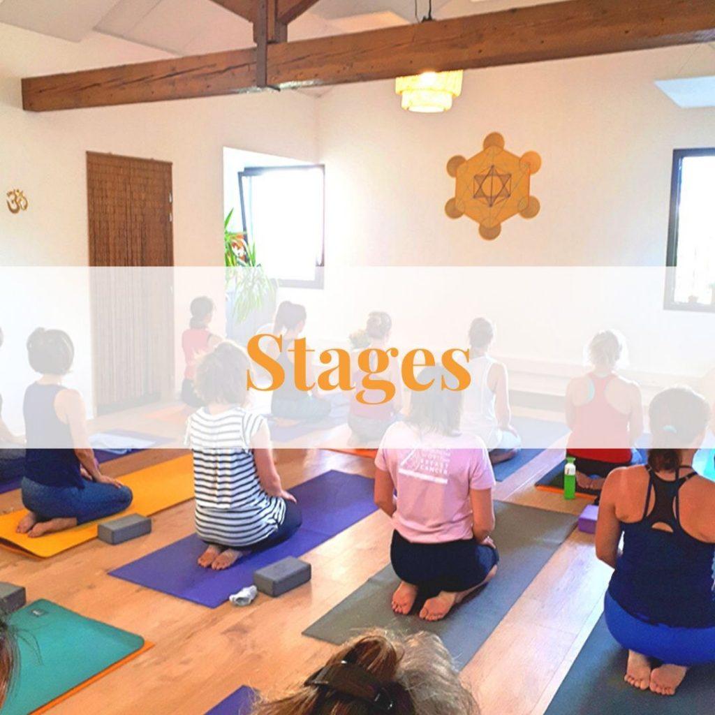Stages yoga bien être grenoble